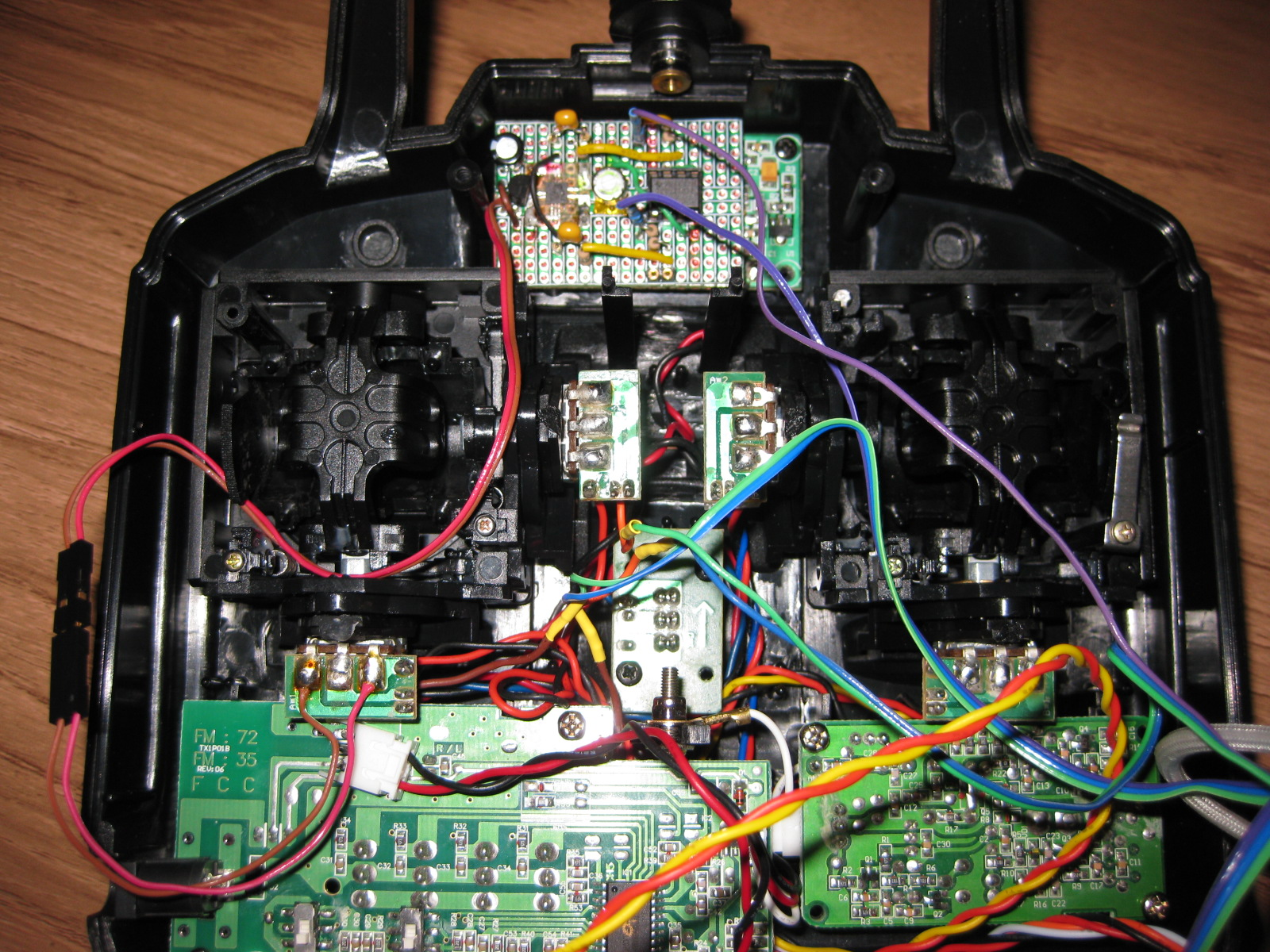Op Amp Starlino Electronics Wiring Upgrade Your Rc Transmitter With A Diy Tilt Motion Control Module