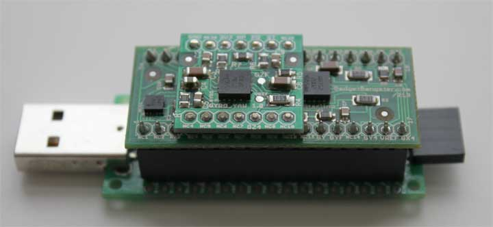 Acc_Gyro_6DOF  and UsbThumb MCU unit